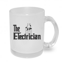 The electrican - Originální dárkový hrnek s potiskem, dárek pro elektrikáře