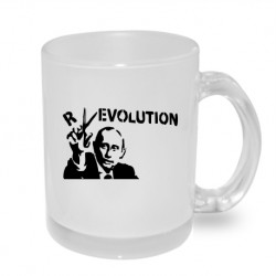 Putin revolution - Originální dárkový hrnek s potiskem, humorný dárek