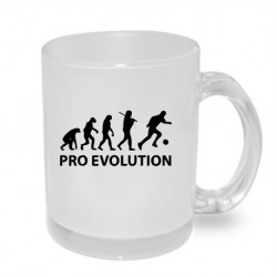Evoluce fotbalista. Originální dárkový hrnek s potiskem, dárek pro fotbalistu