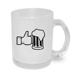 Like Beer. Originální dárkový hrnek s potiskem, dárek pro muže