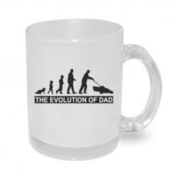 Originální dárkový hrnek s potiskem - The evolution of the Dad