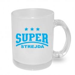 Super strejda s hvězdičkami - Originální dárkový hrnek s potiskem pro strejdu
