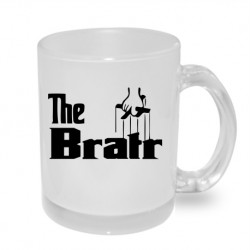 The Bratr ve stylu mafiána - Originální dárkový hrnek s potiskem pro bratra