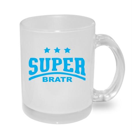 Super Bratr s hvězdičkama - Originální dárkový hrnek s potiskem pro bratra
