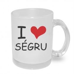 I Love Ségru - Originální dárkový hrnek s potiskem pro sestru