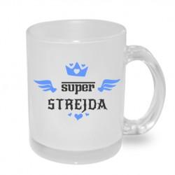 Super Strejda s korunkou - Originální dárkový hrnek s potiskem pro strejdu