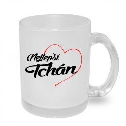 Nejlepší tchán v srdci - Originální hrnek s potiskem, dárek pro Tchána