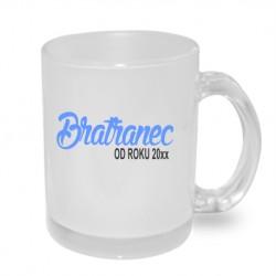 Bratranec od roku 20xx - Originální hrnek s potiskem roku, dárek pro Bratrance