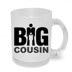 Big cousin - Originální hrnek s potiskem, dárek pro Bratrance