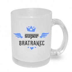 Super bratranec s korunkou - Originální hrnek s potiskem, dárek pro Bratrance
