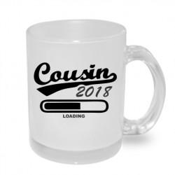 Cousin 2018 loading - Originální hrnek s potiskem, dárek pro Bratrance