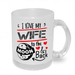 - Originální hrnek s potiskem, dárek pro manželku