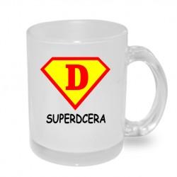 Super dcera ve stylu supermana - Originální dárkový hrnek s potiskem, dárek pro dceru